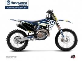 Husqvarna TC 125 Dirt Bike Nova Graphic Kit Blue