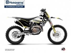 Husqvarna TC 125 Dirt Bike Nova Graphic Kit Black