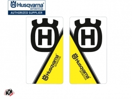 Graphic Kit Fork protection stickers Nova Dirt Bike Husqvarna TC-FC TE-FE Black