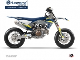 Kit Déco Moto Cross Orbit Husqvarna 450 FS Gris