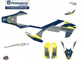 Husqvarna 450 FS Dirt Bike Orbit Graphic Kit Grey