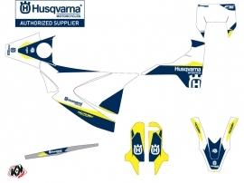 Husqvarna 701 Supermoto Street Bike Orbit Graphic Kit White