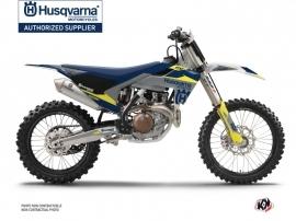 Husqvarna FC 250 Dirt Bike Orbit Graphic Kit Grey