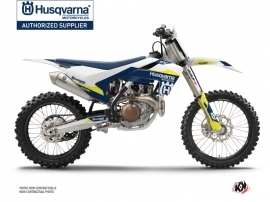Kit Déco Moto Cross Orbit Husqvarna FC 350 Blanc