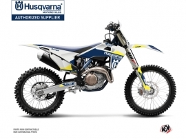 Kit Déco Moto Cross Orbit Husqvarna FC 450 Blanc