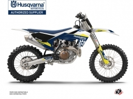 Husqvarna TC 125 Dirt Bike Orbit Graphic Kit White