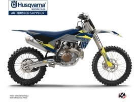 Husqvarna TC 125 Dirt Bike Orbit Graphic Kit Grey