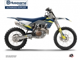 Husqvarna TC 250 Dirt Bike Orbit Graphic Kit Grey