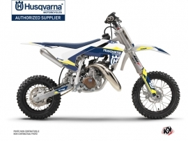 Husqvarna TC 50 Dirt Bike Orbit Graphic Kit White