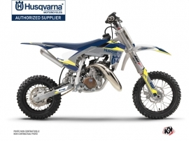 Husqvarna TC 50 Dirt Bike Orbit Graphic Kit Grey