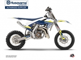 Husqvarna TC 65 Dirt Bike Orbit Graphic Kit White