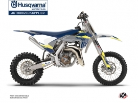 Husqvarna TC 65 Dirt Bike Orbit Graphic Kit Grey