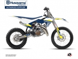 Kit Déco Moto Cross Orbit Husqvarna TC 85 Blanc
