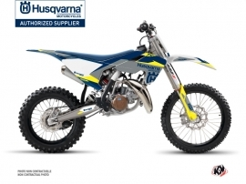 Husqvarna TC 85 Dirt Bike Orbit Graphic Kit Grey