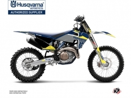 Kit Déco Moto Cross Orbit Husqvarna FC 250 Gris