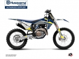 Husqvarna FC 350 Dirt Bike Orbit Graphic Kit Grey