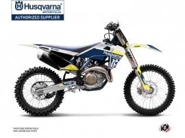 Husqvarna TC 125 Dirt Bike Orbit Graphic Kit White