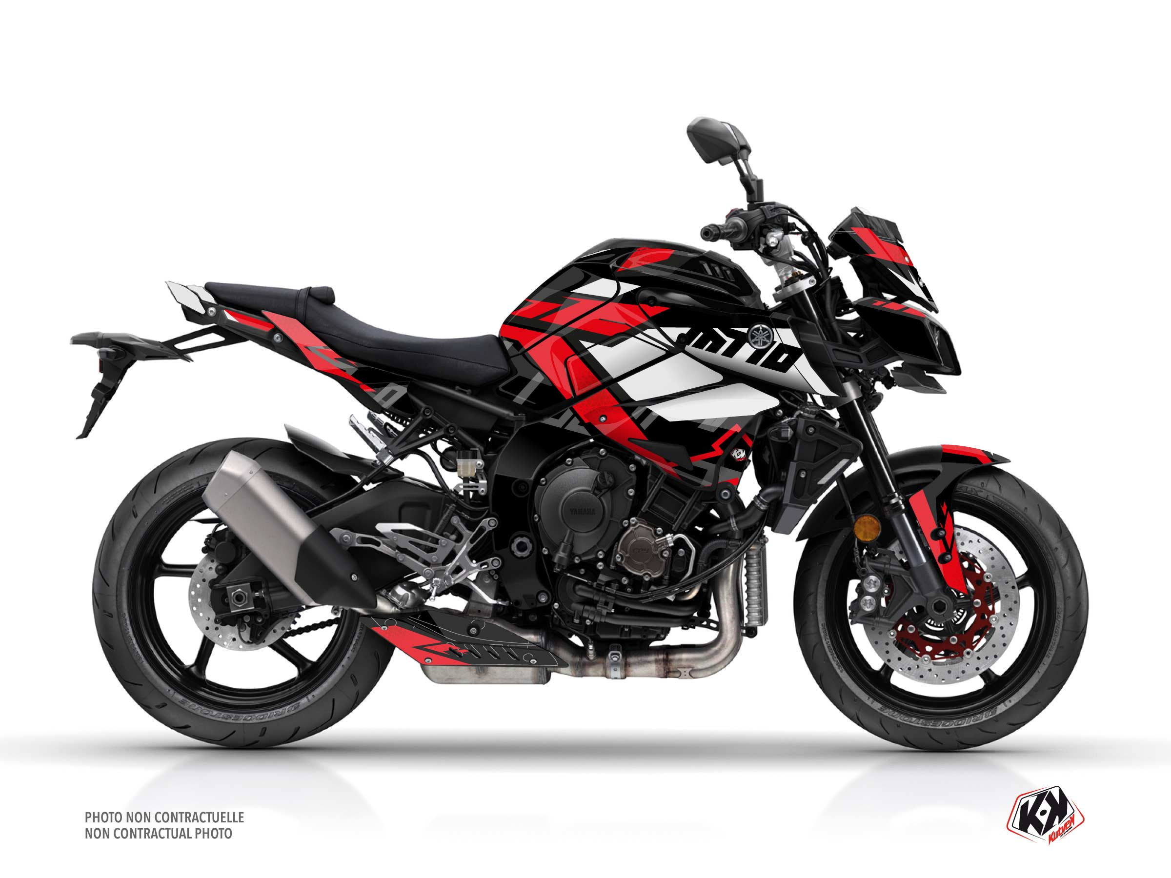 Yamaha MT 10 Street Bike Sanctuary Graphic Kit Black