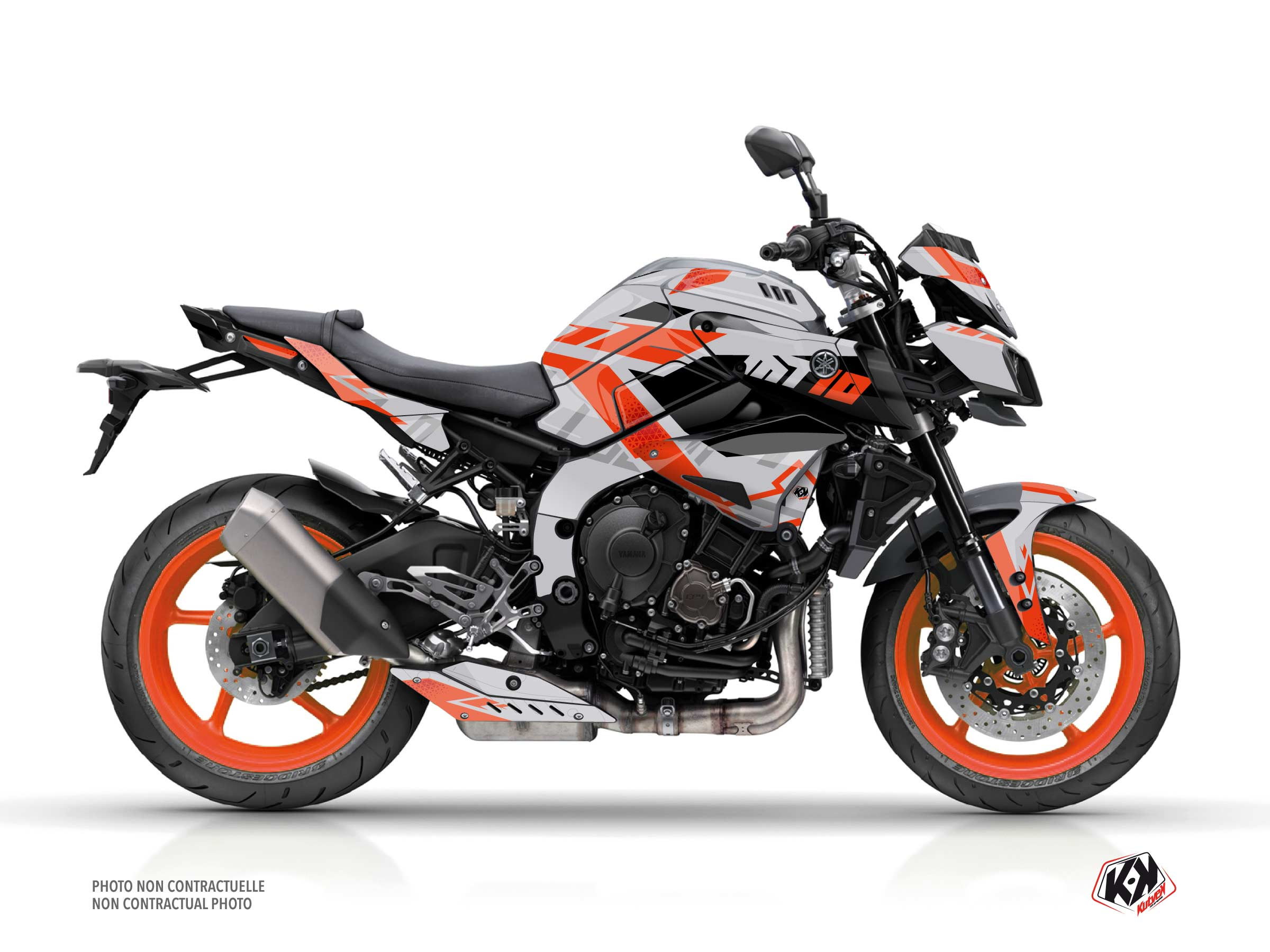 Yamaha MT 10 Street Bike Sanctuary Graphic Kit Grey
