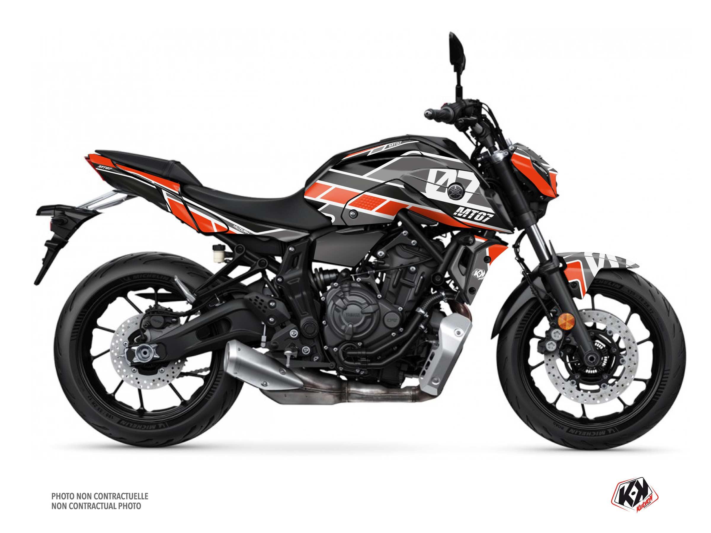 Kit Déco Moto Player Yamaha MT 07 Noir