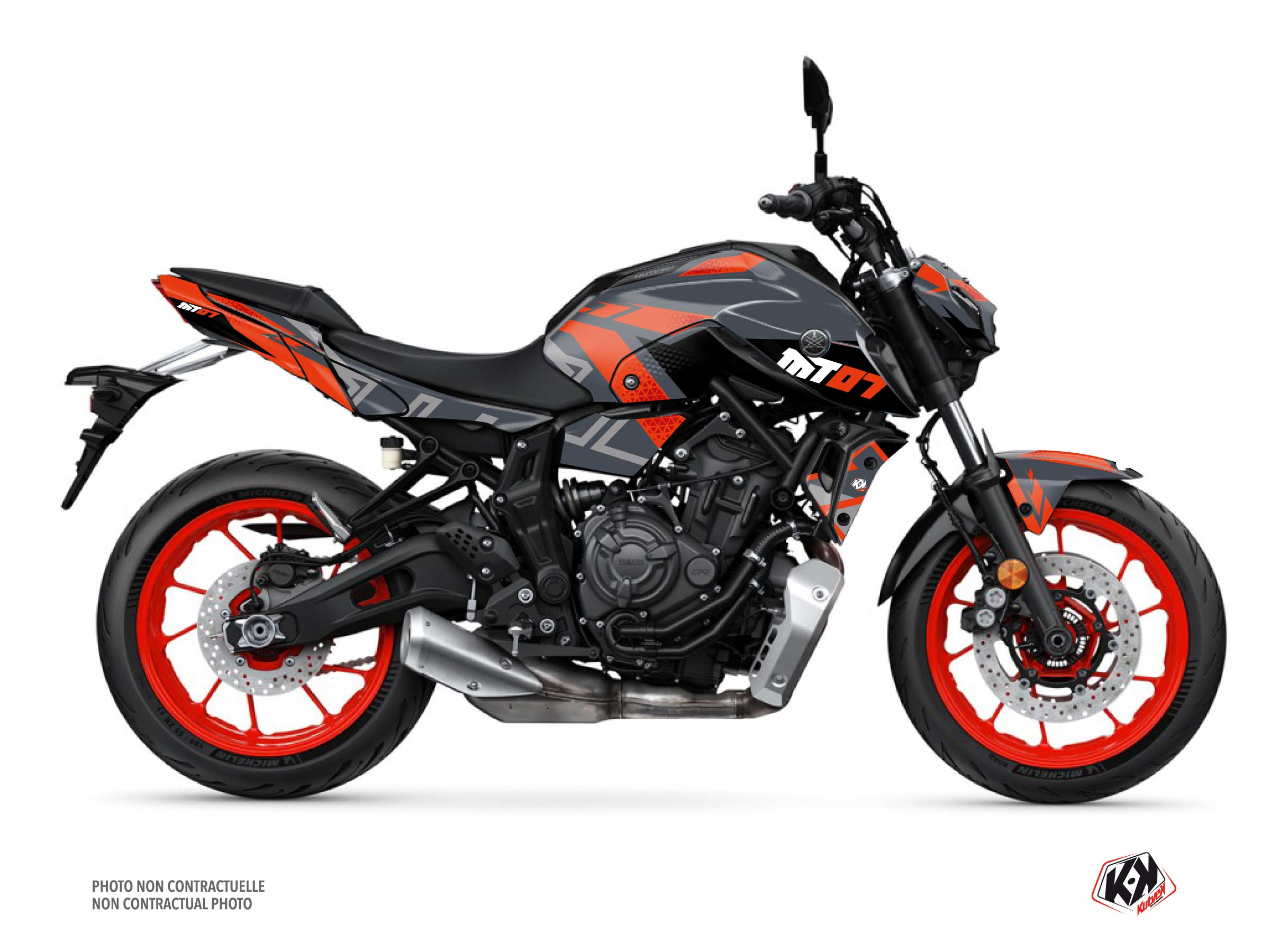 Kit Déco Moto Sanctuary Yamaha MT 07 Gris