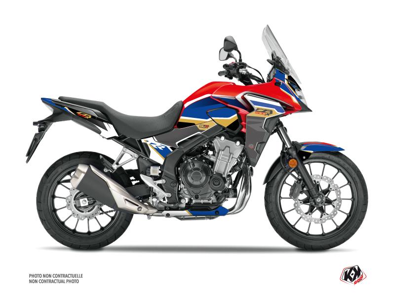 Kit Déco Moto Run Honda CB 500 X Rouge