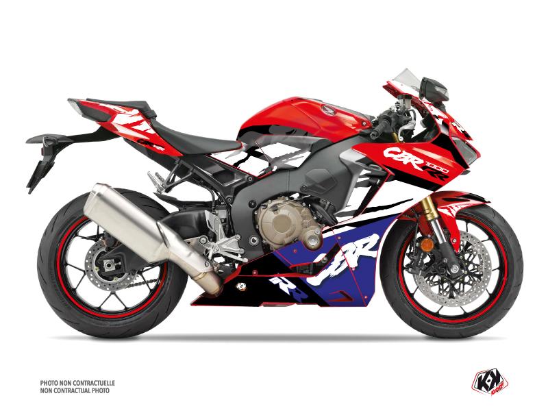 Kit Déco Moto Nineties Honda CBR 1000 RR Rouge