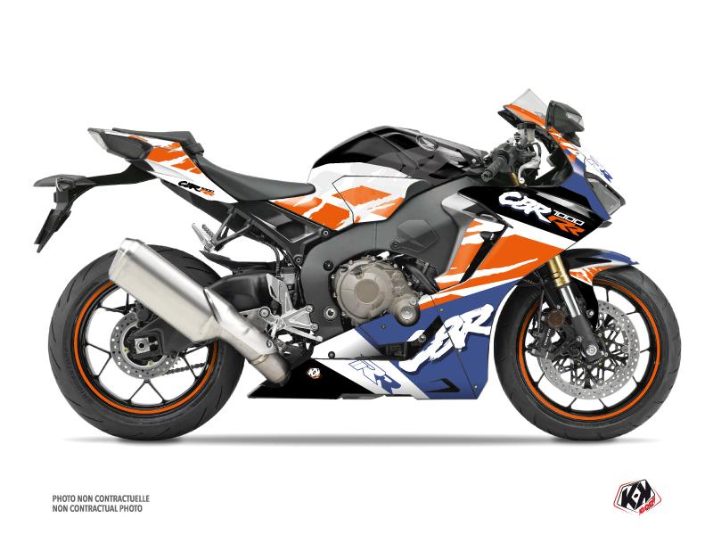 Kit Déco Moto Nineties Honda CBR 1000 RR Blanc