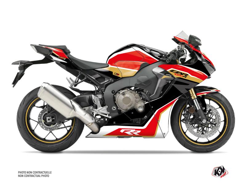 Kit Déco Moto Run Honda CBR 1000 RR Noir