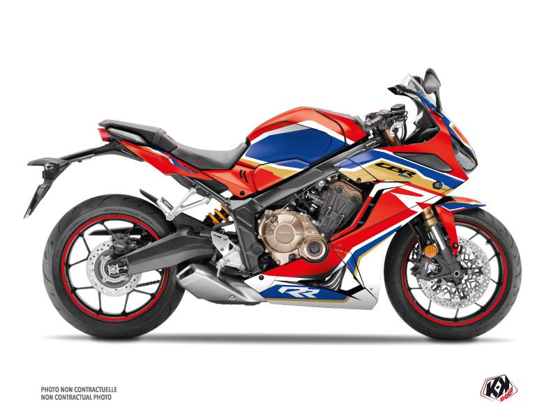 Honda CBR 650 R Street Bike Run Graphic Kit Red