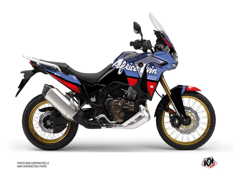 Kit Déco Moto Rampage Honda Africa twin Adventure Sport Noir