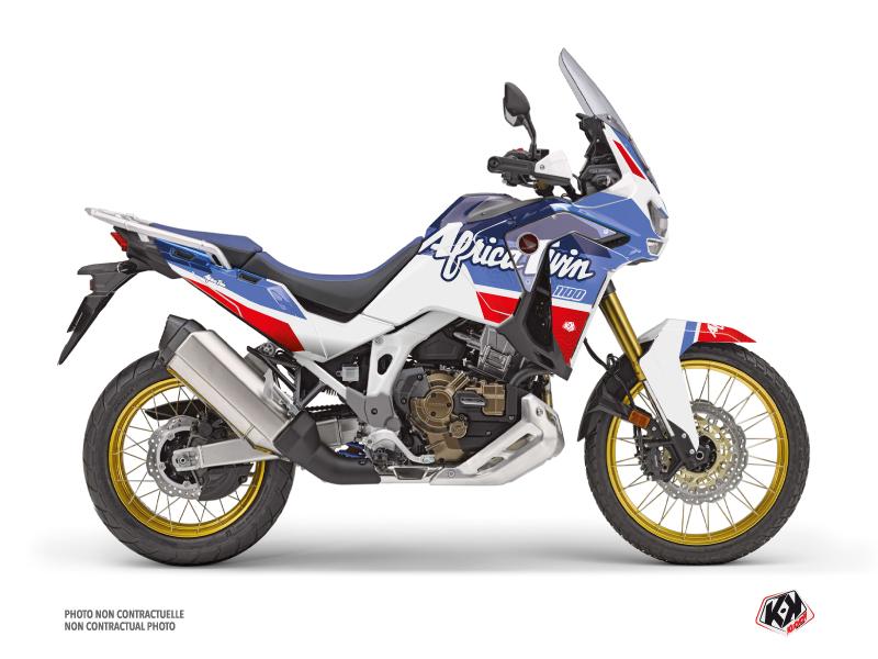 Kit Déco Moto Rampage Honda Africa twin Adventure Sport Blanc