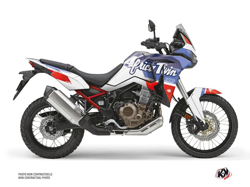Honda Africa twin Street Bike Rampage  Graphic Kit White