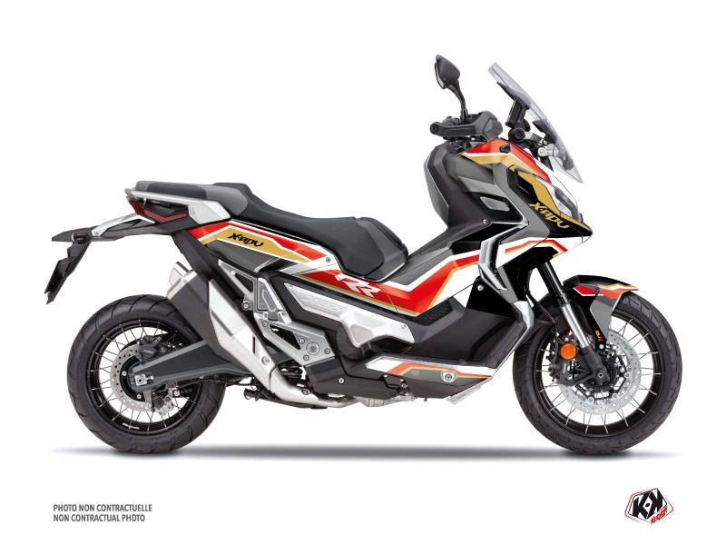 Honda X-ADV Maxiscooter Run Graphic Kit Black