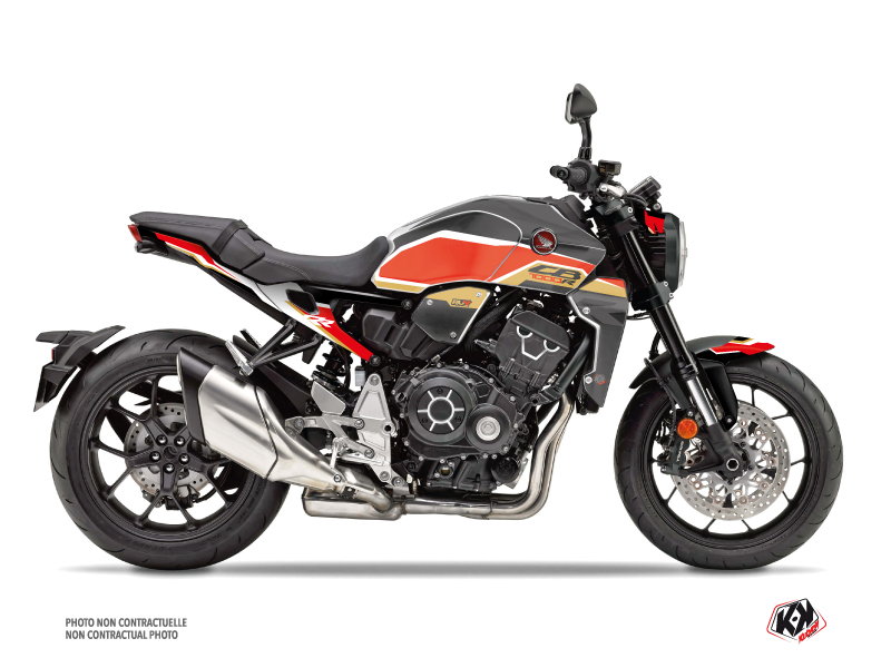 Honda CB 1000 R Street Bike Run Graphic Kit Black