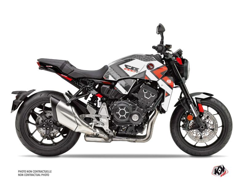 Honda CB 1000 R Street Bike Square Graphic Kit Black