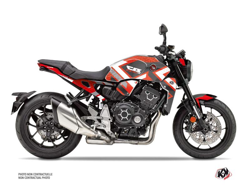 Honda CB 1000 R Street Bike Square Graphic Kit Red