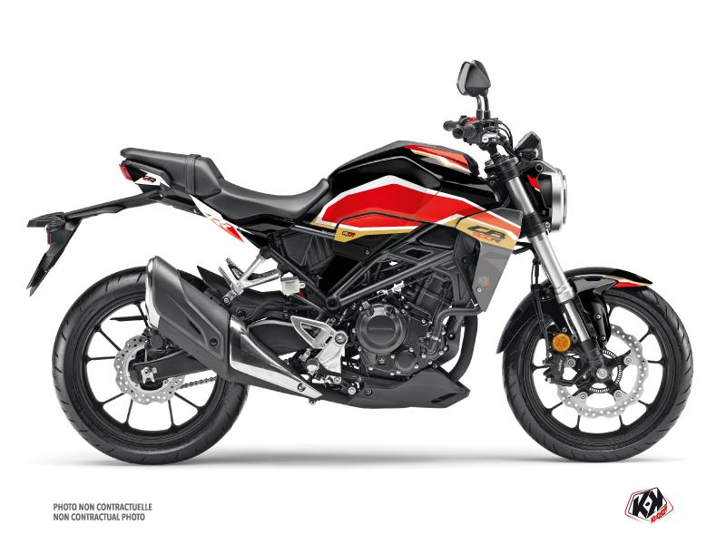 Honda CB 300 R Street Bike Run Graphic Kit Black