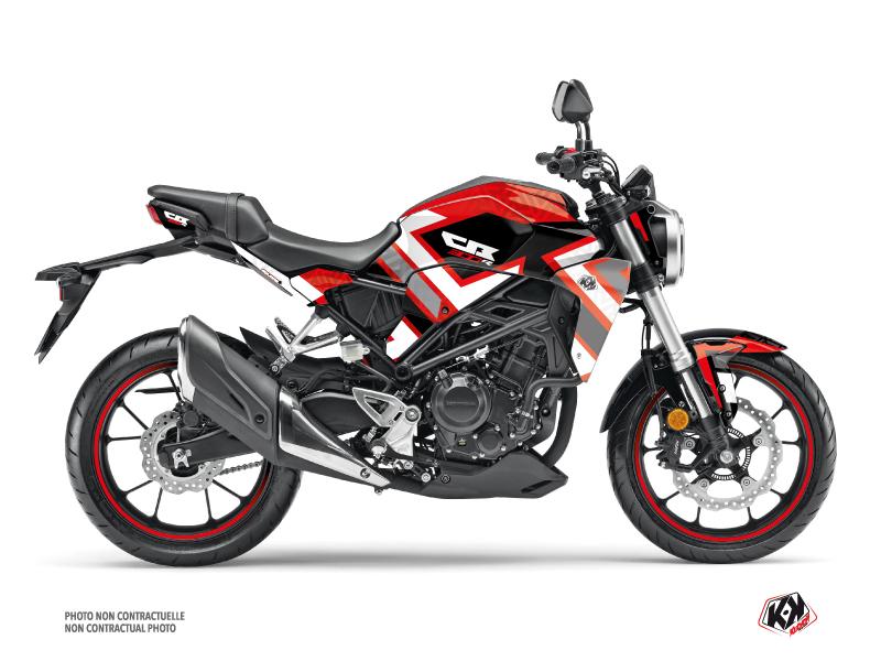 Honda CB 300 R Street Bike Square Graphic Kit Red