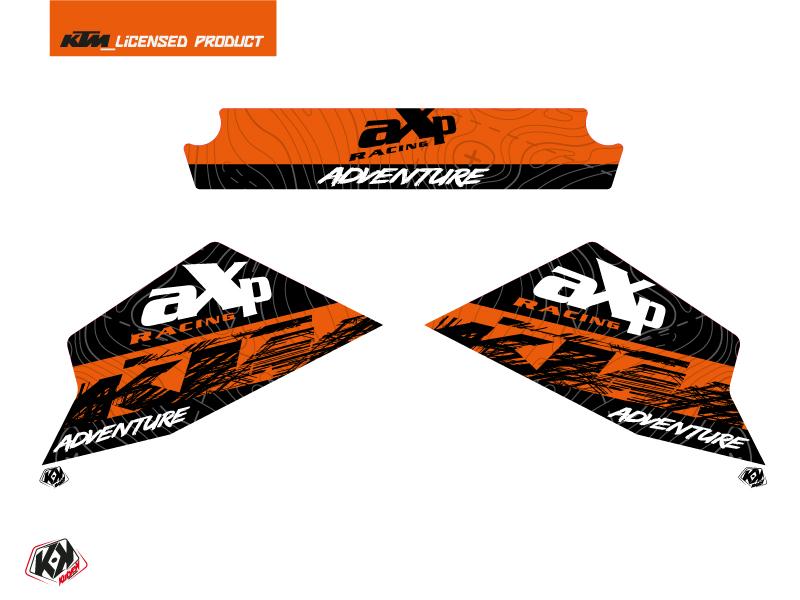 Graphic Kit AXP Skid Plates Moto Gear KTM 790-890 Adventure Orange