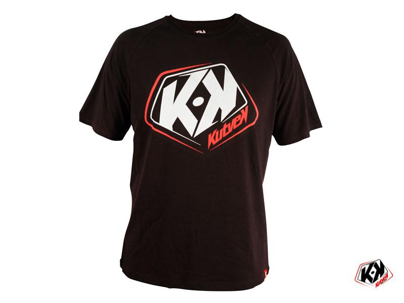 Black KUTVEK CLASSIC T-shirt