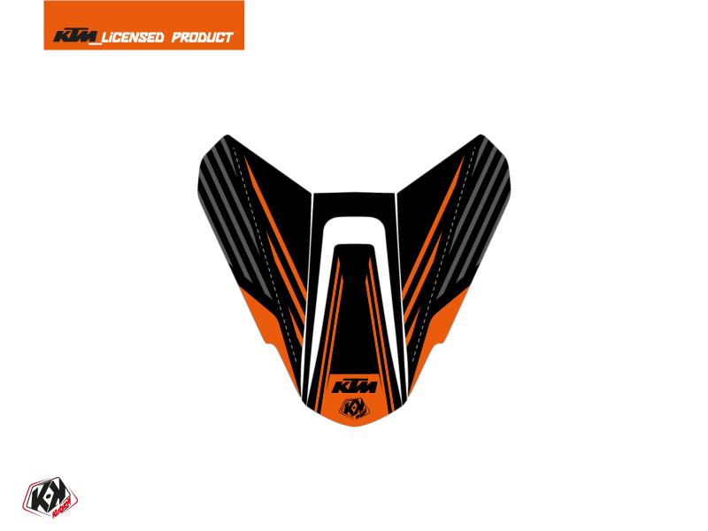 Kit Déco Capot de Selle Moto Perform KTM Noir Orange