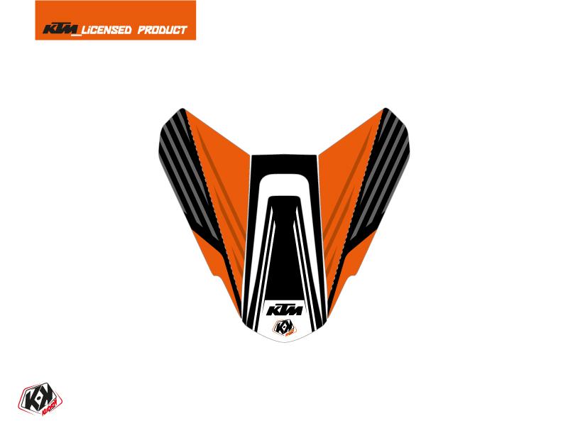 Kit Déco Capot de Selle Moto Perform KTM Orange Noir