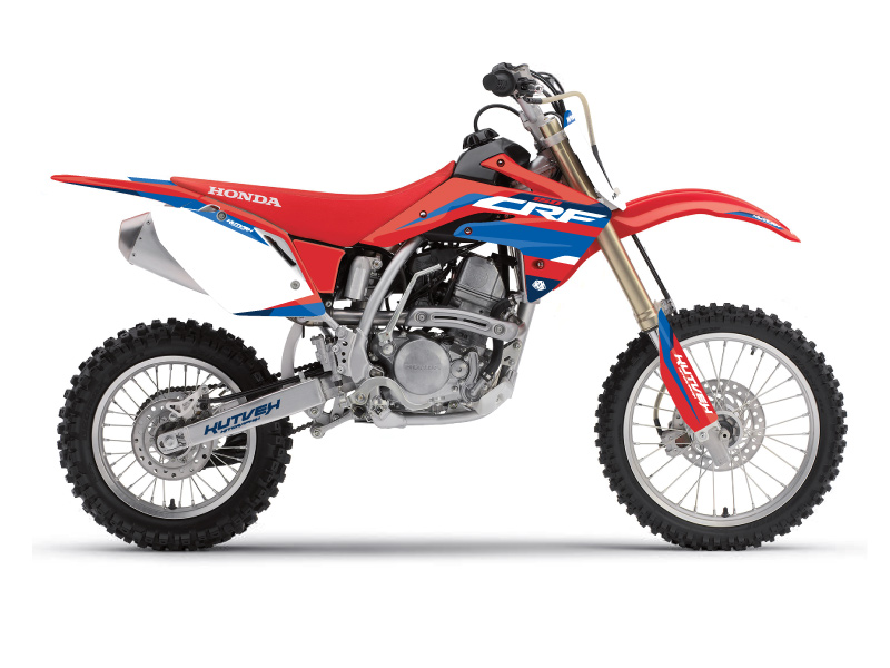 Honda 150 CRF Dirt Bike League Graphic Kit Red
