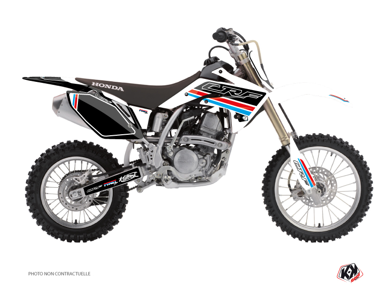 Honda 150 CRF Dirt Bike First Graphic Kit White