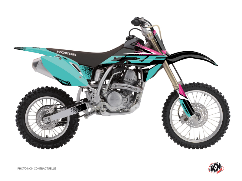 Honda 150 CRF Dirt Bike Nasting Graphic Kit Turquoise