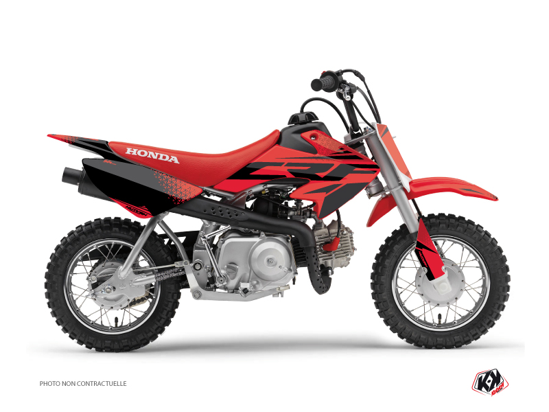 Honda 50 CRF Dirt Bike Nasting Graphic Kit Red