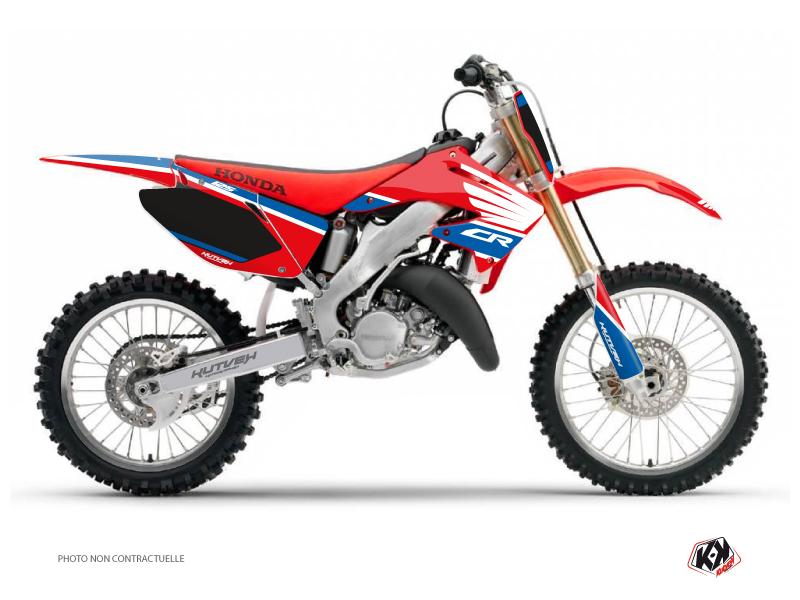 Honda 125 CR Dirt Bike Wing Graphic Kit Blue