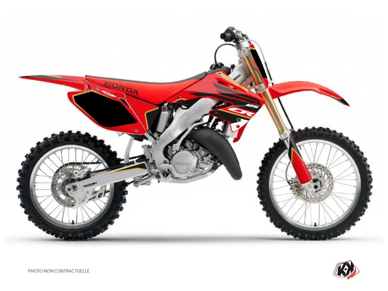 Honda 125 CR Dirt Bike Dyna Graphic Kit Gold
