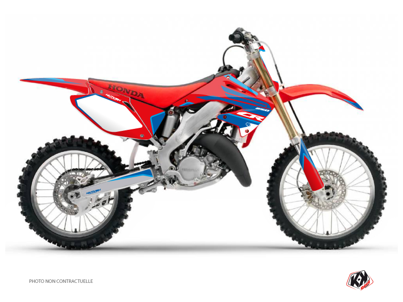 Honda 250 CR Dirt Bike Dyna Graphic Kit Blue